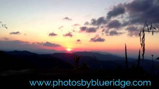 Early Spring Sunrise from the Blue Ridge Parkway
