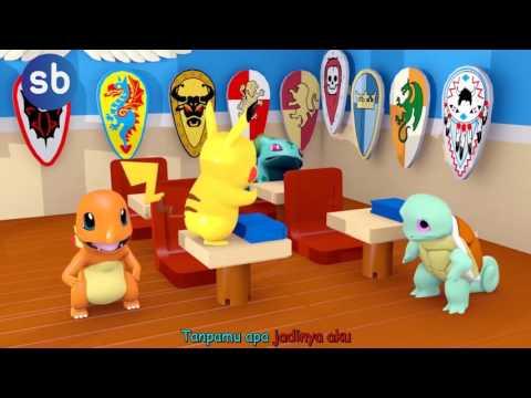 Pokemon GO Pikachu Guruku Tersayang Lagu Anak
