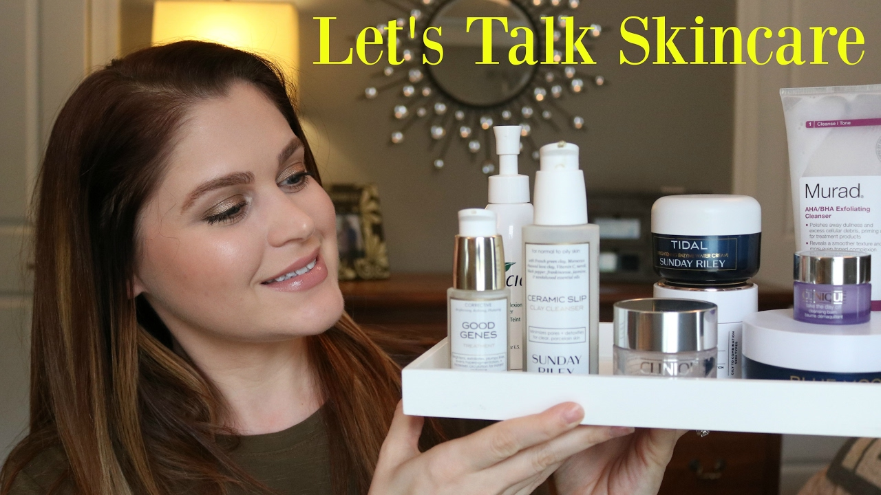A Lot Of Skincare Reviews Boscia Sunday Riley And More Youtube