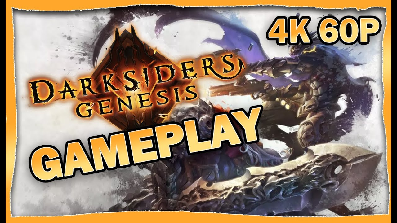 Darksiders Genesis Gameplay [4K 60p]