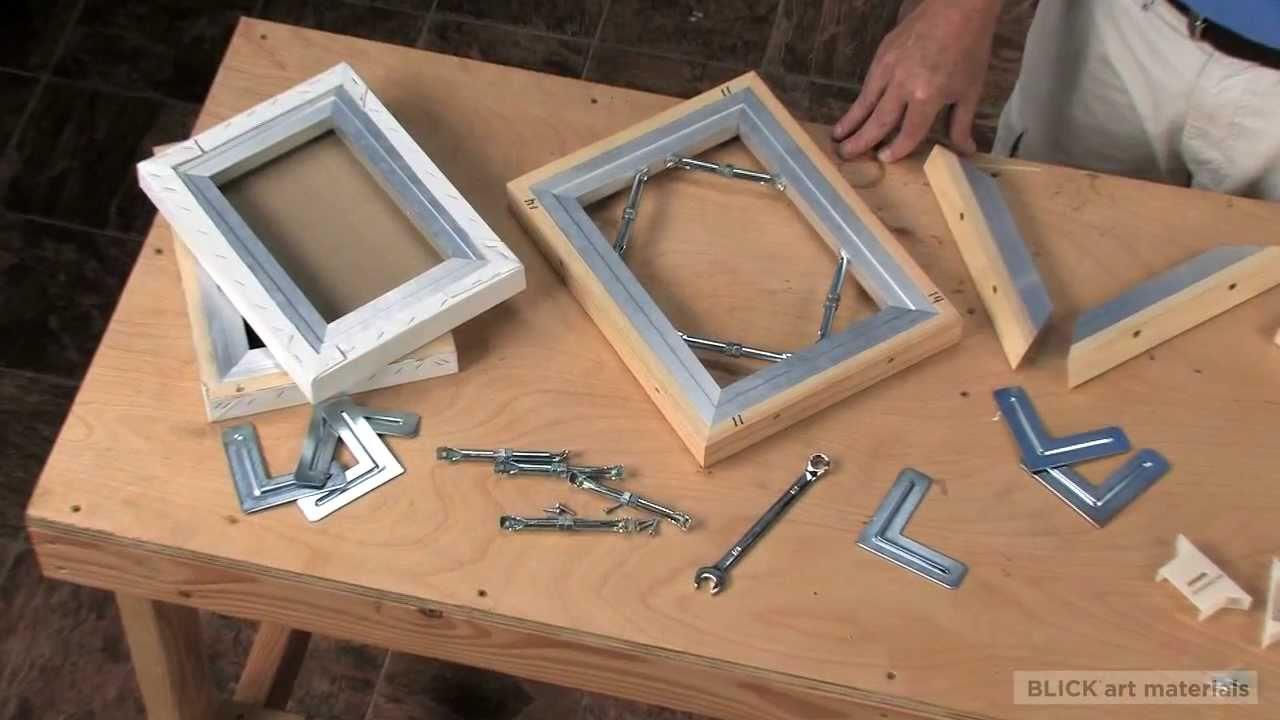 best pro bar aluminum stretcher bars youtube