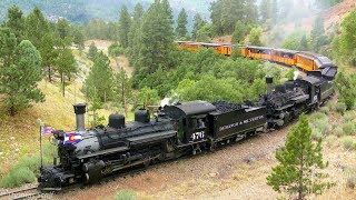 Return of the Durango and Silverton After the 416 Fire! 4K