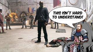 White SJW doesn't understand Luke Cage, Superheroes, and Morality [Salt Mine]
