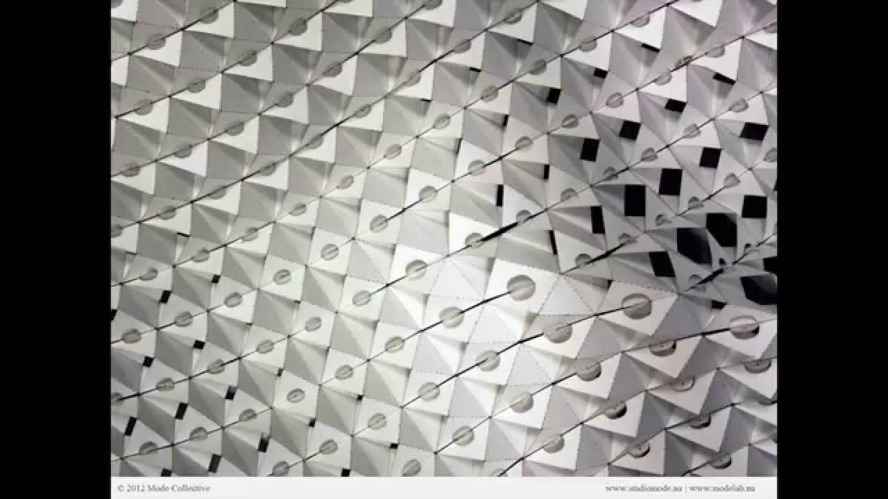 Parametric pleating 02 intro to paper folding and paneling tool parametric pleating 02 intro to paper folding and paneling tool youtube jeuxipadfo Image collections