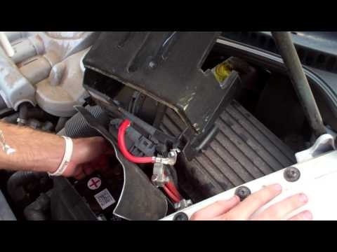 2010 VW Beetle Battery Removal