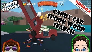Roblox - Lumber Tycoon 2 - Candy Car Spook Wood Search.