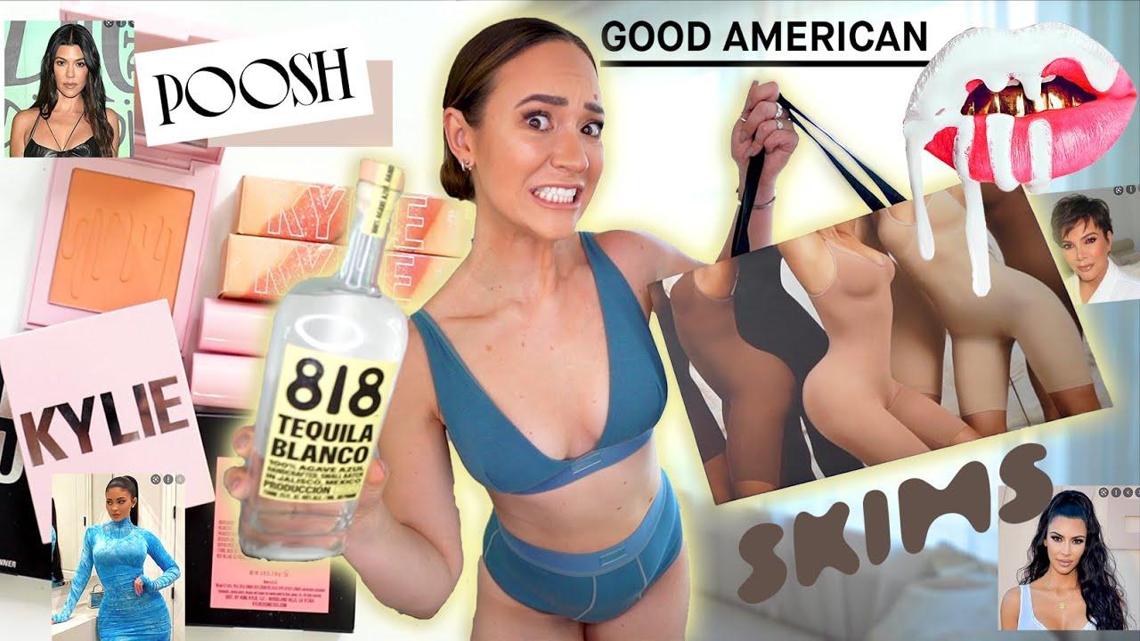 Ranking ALL the Kardashian / Jenner Brands! *SKIMS, Drink 818, Kylie Cosmetics, Good American*