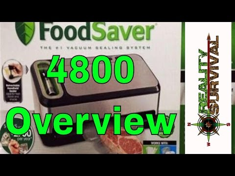 Food Saver 4800 Series Overview