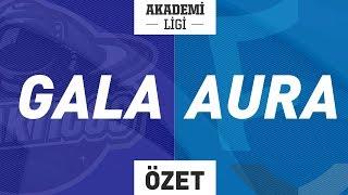 Galakticos A ( GALA ) vs Doğuş Uni Aurora A ( AURA ) Maç Özeti | 2019 Akademi Ligi 5. Hafta