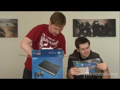 "PlayStation 3 ""Super Slim"" Unboxing - VideoGamer"
