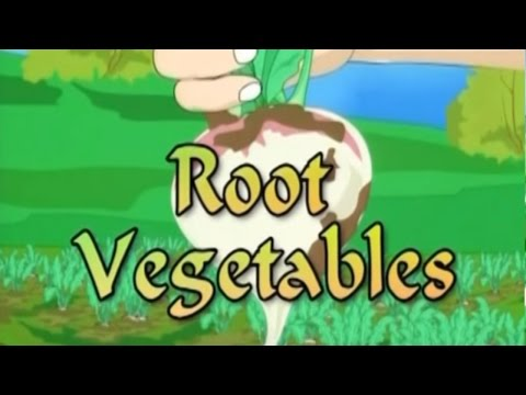 Learn more on | Root Vegetables | KidRhymes