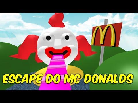 Roblox - Escape MC Donalds