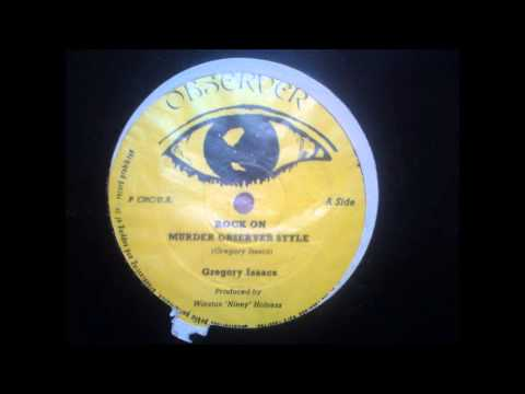 Gregory Isaacs ' Rock on' 12 inch