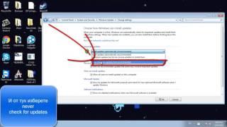 Как да спрем windows update при windows 7