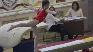 спортивная гимнастика девушки - соревнования Челябинск СШОР №4
