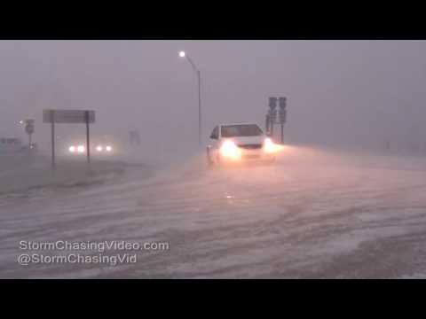 Hays, KS Extreme Hail & Flash Flooding - 4/12/2017