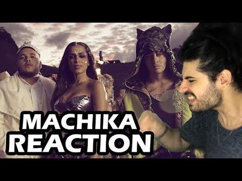 J Balvin Jeon Anitta - Machika REACTION  Reação e comentários