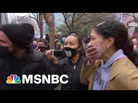 'There Was Genuine Relief': Reporter Describes Scene Outside Courthouse | Morning Joe | MSNBC