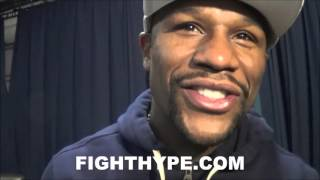 FLOYD MAYWEATHER EXPLAINS WHY HE BET ON TYSON FURY OVER KLITSHCHKO; LIKES FIGHT WITH DEONTAY WILDER