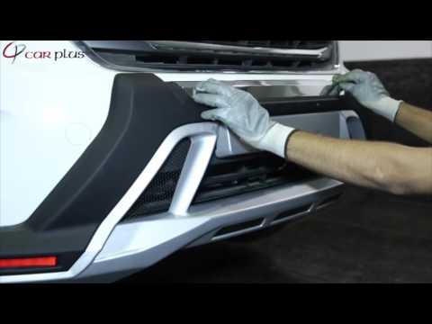 FRBG00003 KMH Front And Rear Bumper Guard Hyundai Creta Installation Video