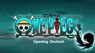 One Piece Opening 1-8~(Deutsch-German)