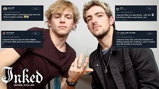 Ross and Rocky Lynch Read Your Assumptions | INKED