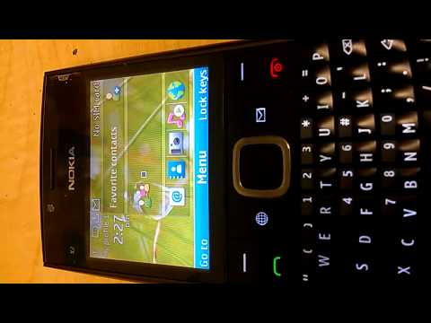 Video Cara Menghilangkan Tanda E Di Hp Nokia X2 01