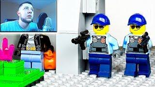 ЛЕГО ОГРАБЛЕНИЕ БАНКА | ЛЕГО ТЕСТ НА ПСИХИКУ ЧЕЛЛЕНДЖ | LEGO CHALLENGE