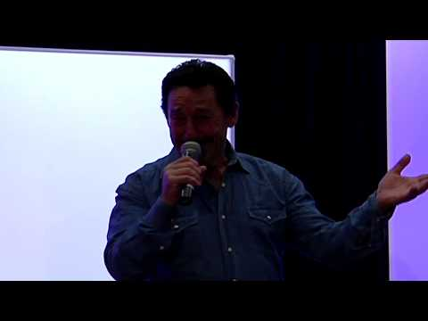 Peter Cullen (Optimus Prime) Greets the Crowd at TFcon 2015