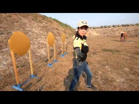 Laos, April 5 International Shooting Range