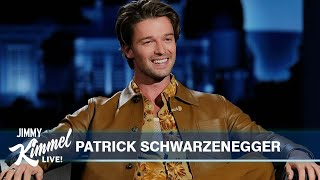Patrick Schwarzenegger on His Dad's Influence, Living with His Mom During Quarantine & New Movie