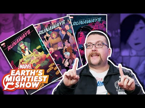 "Our ""Marvel's Runaways"" Comic Reading List! 