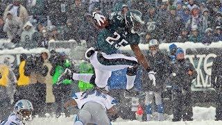 LeSean McCoy Dominates in Snow Bowl vs. Lions! | NFL Flashback Highlights