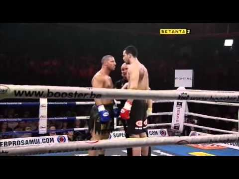 Badr Hari vs Frederic Sinistra [full fight] It's Showtime 2009