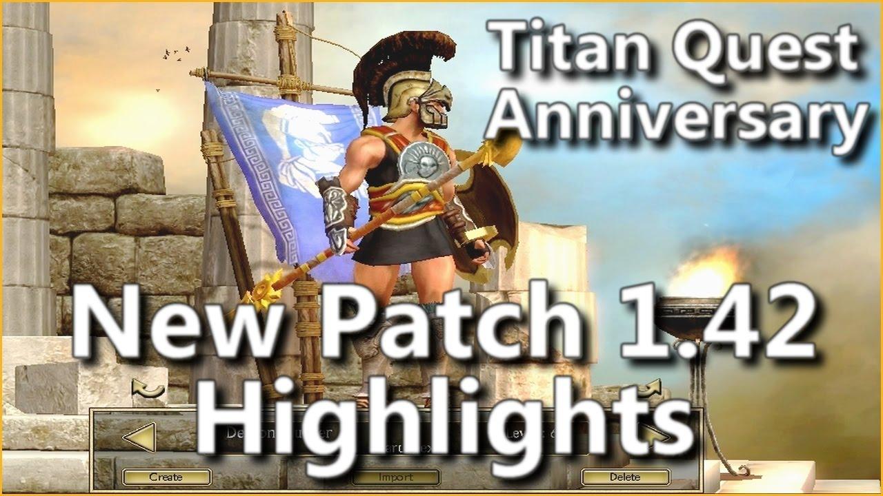 titan quest anniversary patch