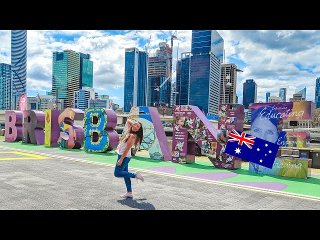 24 HORAS EN BRISBANE AUSTRALIA - ¿QUÉ HACER?   Acá en Australia