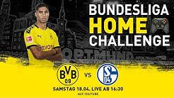 Bundesliga Home Challenge mit Achraf Hakimi - kommentiert von Erné | Revierderby | FIFA20