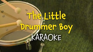 The Little Drummer Boy (instrumental - lyrics video for karaoke)