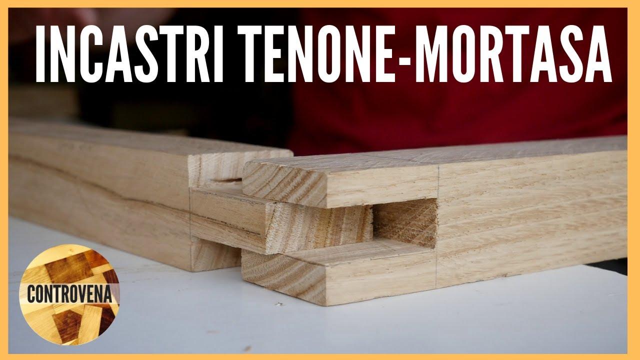 Tavolino In Legno La Struttura Con Incastri Tenone Mortasa 2 2 Falegnameria E Lavorazione Legno Youtube