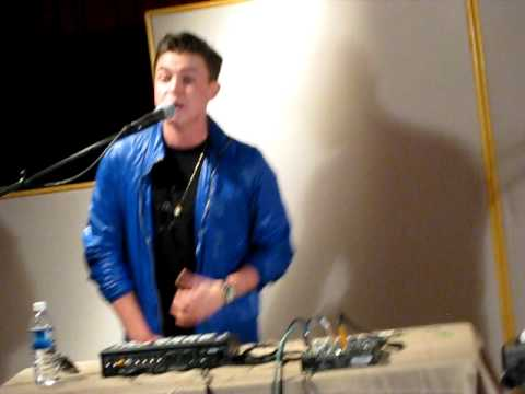 "Jesse McCartney- ""Shake""  @ Music Shed in New Orleans"