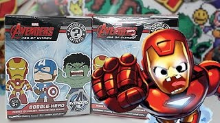 opening 2 funko avengers age of ultron mystery minis blind boxes