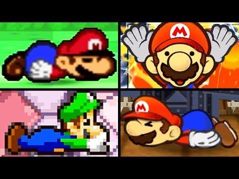 Super Mario Evolution of UNAVOIDABLE DEATHS 1986-2007 (NES to Wii)