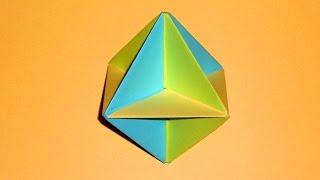 Як зробити багатогранник з паперу: Куля Кусудама