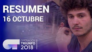 Resumen diario OT 2018   16 OCTUBRE