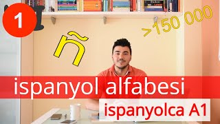 Kolay İspanyolca Dersi 1 - ALFABE - Ispanyolcaya Giris - ÖDEVLi! - A1