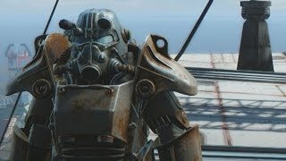 Fallout 4: Jumping Off Trinity Tower in Power Armor