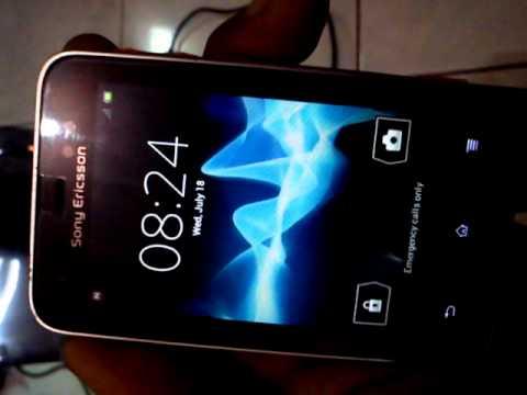 Sony Ericsson Xperia Active upgrade to OS ICS vers. 4.0.4