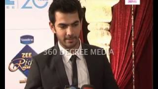 TV Actor Karan V Grover (Yahan Main ghar ghar kheli)expresses excitement at the Zee Rishtey Awards