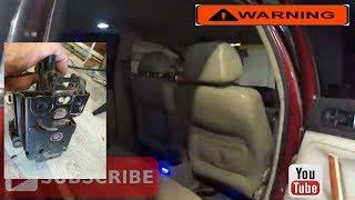 Не работает освещение в салоне при открытии задних  дверей  на VW Passat B5 VR5 2.3 (AGZ)