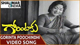 Gorintaku Movie || Gorinta Poochindhi Video Song || Shobhan Babu, Sujatha || Shalimarcinema